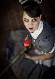 Monika Lee as Little Sister (Bioshock) #cosplay