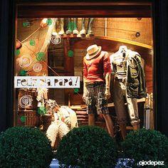 Vinilos Día del Padre 010: Vinilos decorativos Día del Padre Vinilos adhesivos vidrieras escaparates show window Window Display Wall Art Stickers wall stickers