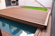 A ideia da cobertura Tek Slide é a de ter protegida a piscina face a acidentes com crianças e animais, ter uma maior proteção da água relativamente à sujidade e manutenção