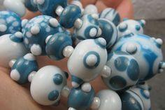 Into the Fire Lampwork Art Beads ~Kuoppia~ Artist handmade glass beads SRA OOAK #Lampwork