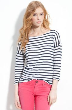 Nautical stripe top