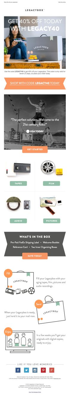 Really Good Emails - The Best Email Designs in the Universe (that came into my inbox) Simple Web Design, Email Design Inspiration, Sale Emails, Best Email, Website Layout, News Sites, Email Marketing, Graphic Design, Ux Design