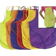 Amazon Kids Crafts – Kids 12 Pack Aprons $8.05 Shipped!