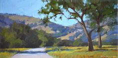 Carol Marine's Painting a Day: A Casual Stroll
