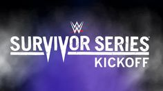 The 2015 WWE #SurvivorSeries Kickoff show starts RIGHT NOW!