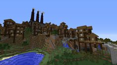 THE WORLD OF RAAR: -SPOTLIGHT- Grimshire - Minecraft building ideas and structures