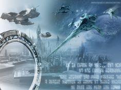 Wallpaper of Stargate Atlantis for fans of Stargate: Atlantis. My Stargate Atlantis wallpaper. I hope you like it  ;-)