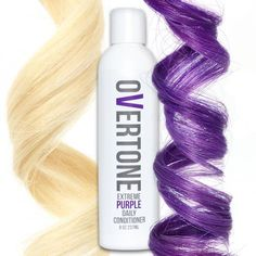 If your professional purple hair dye is fading too fast, we've got the solution! Our bright purple color conditioner will keep your tresses bold AF.