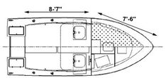 This Pilot 19 boat is the ve-hull version of the offering maximum stability and management during choppy waters. Shop power boat plans at Bateau! Small Power Boats, Small Boats, Choppy Water, Study Plans, Boat Kits, Yacht Design, Boat Plans, Boat Building, Pilot