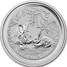 2011 series 2 - Australian Silver Lunar Rabbit Bullion Coin