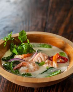 So many health benefits and so freaking good! Thai Fish Soup recipe, adapted from The Medicinal Chef! Recipe: http://www.steamykitchen.com/29073-thai-fish-soup.html