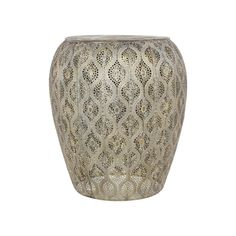 Corsica Metal Stool Size: (H) x (D) Colour: White Ships in: 1 to 3 Days Types Of Glassware, Metal Stool, Earth Design, Corsica, Furniture Design, Living Room, Color, Brown, Home Decor