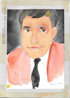 LAWRENCE GEORGE DURRELL, di Paola Monasterolo. QUEER PORTRAITS, 29. - feat. Federico Boccaccini www.federiconovaro.eu