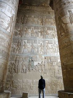 The Dendera Temple complex, which contains the Temple of Hathor, is one of the best-preserved temples, if not the best-preserved one, in all of Egypt.
