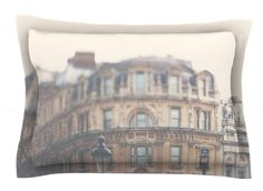 London Town by Laura Evans Woven Sham