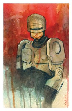 Robocop by Brett Weldele
