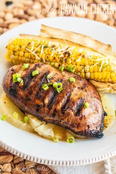 Grilled Hawaiian Chicken at http://therecipecritic.com