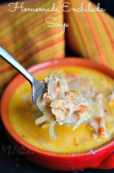 Homemade Enchilada Soup