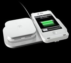 Duracell Powermat 24 Hour Power System: Inductive charging for iPhone