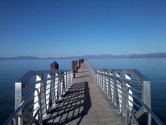 Lake Tahoe while visiting my son