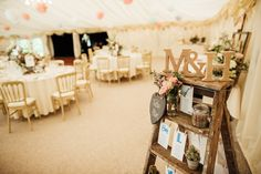 Pastel Marquee Wedding at Hedingham Castle, Essex with Aire Barcelona Gown Wedding Decorations On A Budget, Wedding Centerpieces, Table Decorations, Marquee Wedding, Rustic Wedding, Wedding Venues, Jam Jar Wedding, Hedingham Castle, Wedding 2017