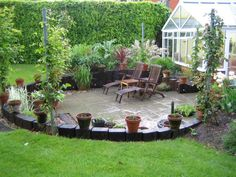 Andy Kyle's landscaping with railway sleepers