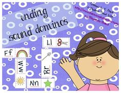 Ending Sound Dominoes $