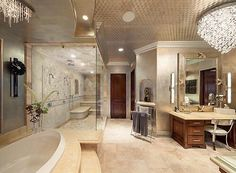 gorgeous master bathroom!