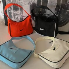 Luxury Purses, Luxury Bags, Nike Shoulder Bag, Shoulder Bags, My Bags, Purses And Bags, Bag Patches, Cute Bags, Cute Handbags