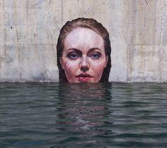 Arte urbano por Sean Yoro Hula