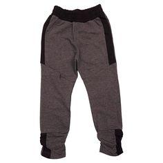 Lækre grå melange sweat bukser fra Kids-Up