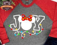 Disney Christmas Shirts Disney Shirts by PixieDustPrincessCo Disney Shirts, Disney Christmas Shirts, Mickey Mouse Christmas, Minnie Mouse, Disney Outfits, Disney Clothes, Family Christmas, Mickey Mouse Shirts, Emo Outfits