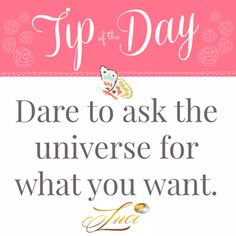 Dare to ask... #TipOfTheDay