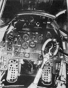 Junkers Ju 87 Stuka cockpit