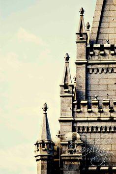 Ascending (2) - Salt Lake City LDS Temple - Digital Photography download