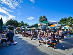 Al Fresco dining at the Mermaid Tavern, Herm Island