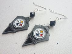 Pittsburgh Steelers Logo NFL Football Team by OldeTowneJewelry, $22.00