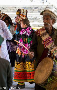 Pakistan 15 - Kalash - Grum - Joshi Festival - Kalash woman with baby