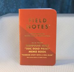 64c1b3c5533 Field Notes DDC Irregular Issue Dead Print Thick Lines Notebook