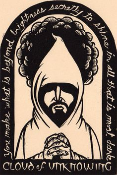 This is original art (linocut) from the book Light from Darkness: Portraits and Prayers. The size is (printed on stonehenge fawn paper) in a black mat Signed and numbered in an edition of 250 Ex Libris, Celtic Prayer, Christian Meditation, Illumination Art, Sacred Art, Christian Art, Religious Art, Vintage Posters, Line Art