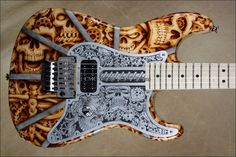 Custom Shop San Dimas Steam Punk Skulls NAMM 2013 Guitar