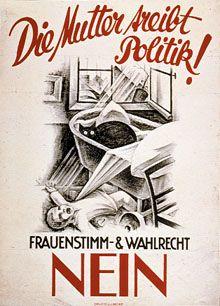 Affiche de votation de 1927