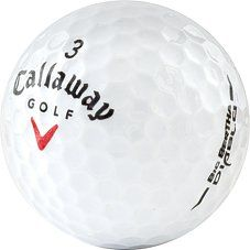 awesome 12 MINT Callaway Big Bertha Diablo Used Golf Balls - 1 Dozen - Like New Condition (AAAAA)