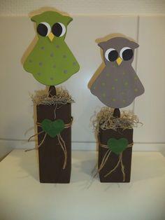 Holzpfosten Deko holzpfosten nikolaus weihnachten craft