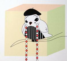 Mime -digital art illustration by Ramalamb
