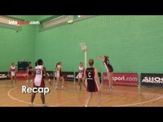Netball Game: Advanced Catching Skills - YouTube