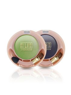 "Milani Runway Eyes Shadows-- ""This little brand gets overlooked, but they have really good eyeshadow. The colors are intense and highly pigmented, so they make a big impact. It's basically a professional line at a drugstore price.""     Carmindy Bowyer, makeup artist on ""What Not to Wear,"" shares her favorite drugstore makeup and hair products...it really is a great make up brand!"