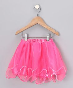 Take a look at this Bubblegum Sequin Tutu by American Tutu on #zulily today!