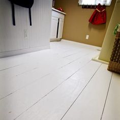 Plywood floor - much cheaper than laminate & a whole lot ...