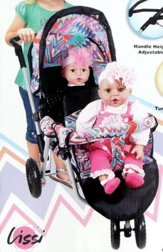 Baby doll double stroller on pinterest strollers double strollers